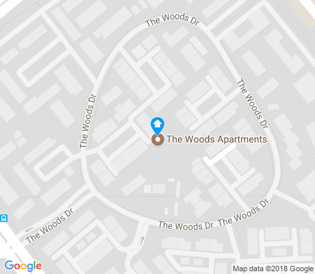 map of The Woods apartments for rent