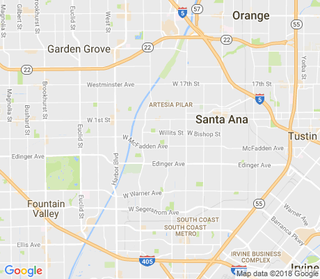 map of Bella Vista apartments for rent