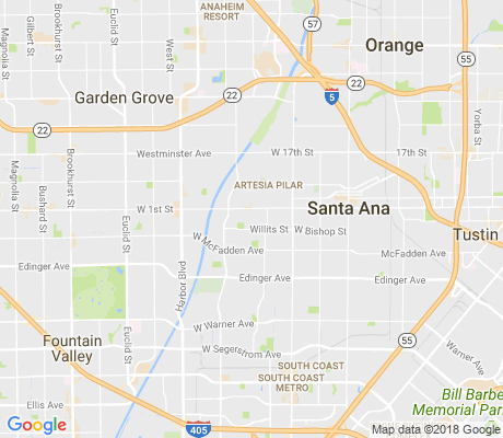 map of Casa Bonita apartments for rent