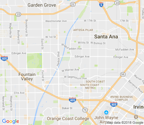 map of Centennial Park apartments for rent