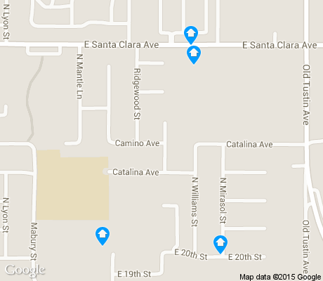 map of Meredith Parkwood apartments for rent