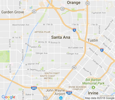 map of Wilshire Square apartments for rent