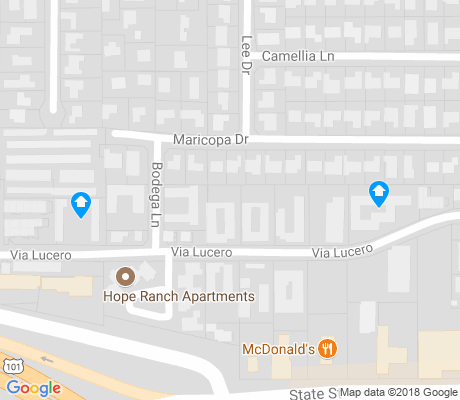 map of Hope apartments for rent