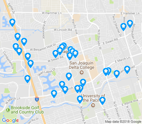 map of 95207 apartments for rent