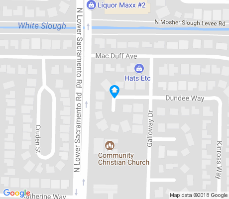 map of Bear Creek East apartments for rent