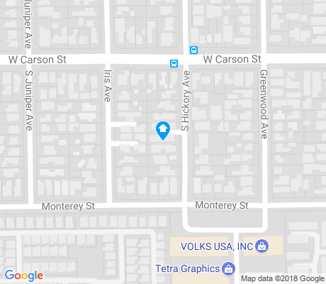 map of Madrona apartments for rent