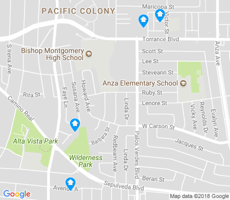 map of Southwood apartments for rent