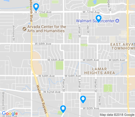 map of Lamar Heights apartments for rent