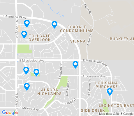 Buckley Afb Map Buckley AFB Aurora Apartments for Rent and Rentals   Walk Score