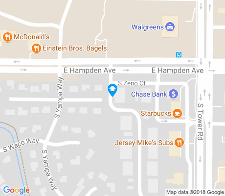 map of Carriage Place apartments for rent