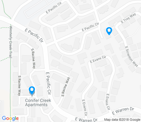 map of Heather Ridge apartments for rent