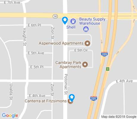 map of Lynn Knoll apartments for rent