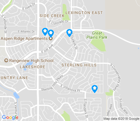 map of Sterling Hills apartments for rent