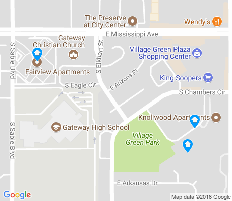 map of Willow Park apartments for rent