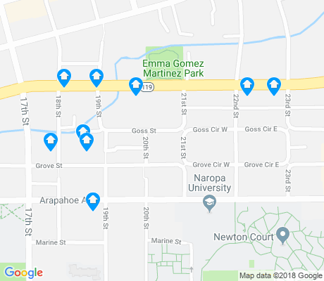 map of Goss - Grove apartments for rent
