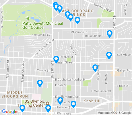 map of Divine Redeemer apartments for rent
