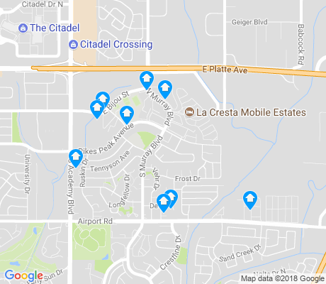 map of Eastborough apartments for rent