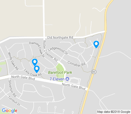 map of Flying Horse Ranch apartments for rent