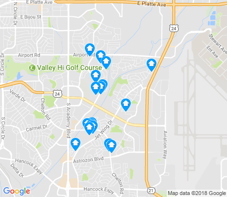 map of Gateway Park apartments for rent