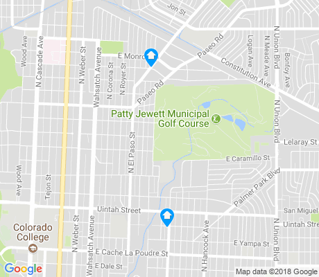 map of Patty Jewett apartments for rent