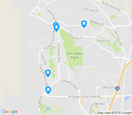 map of Pinon Valley apartments for rent