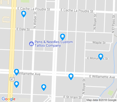 map of Shooks Run apartments for rent