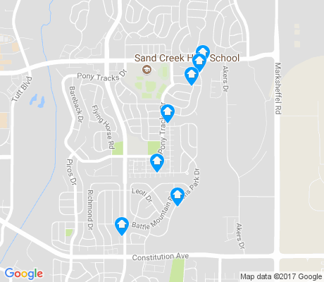 map of Springs Ranch apartments for rent