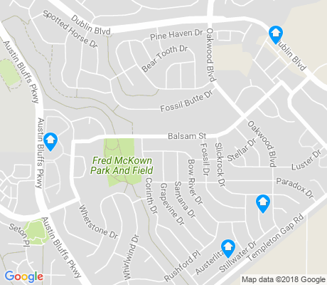 map of Sundown apartments for rent