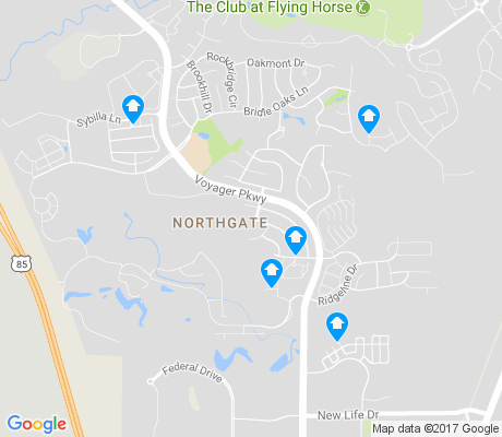 map of Trailridge apartments for rent