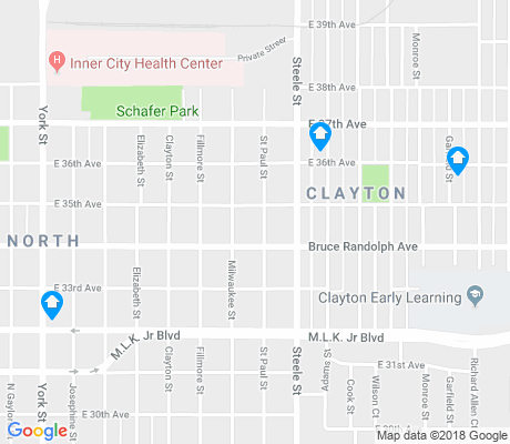 map of Clayton apartments for rent