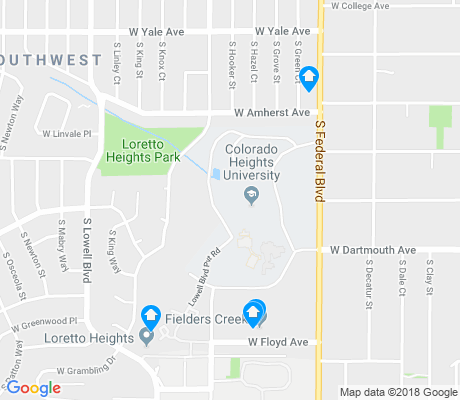 map of Harvey Park South apartments for rent