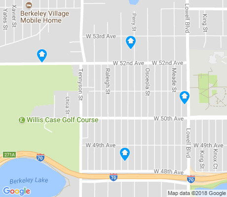 map of Regis apartments for rent
