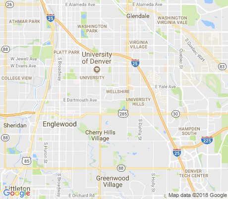 map of Wellshire apartments for rent