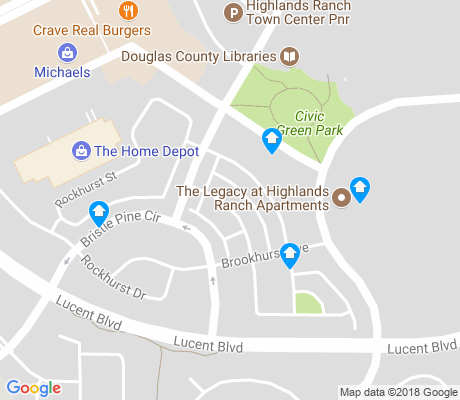 map of Brownstones at Town Center apartments for rent