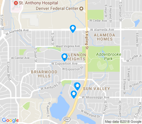 Glennon Heights Lakewood Apartments for Rent and Rentals - Walk Score