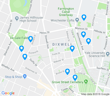 map of Dixwell apartments for rent
