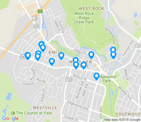 map of Westville apartments for rent