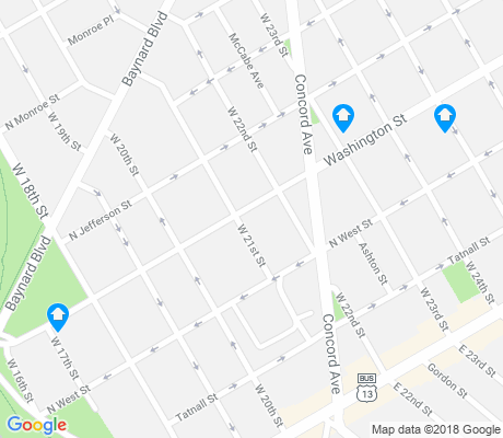 map of Brandywine Village apartments for rent
