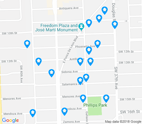 map of Douglas apartments for rent
