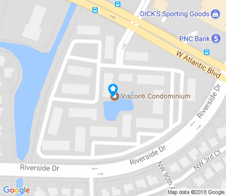 map of Coral Springs Mall apartments for rent