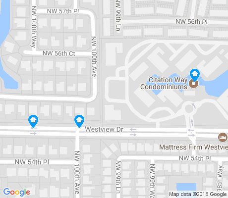 map of Westview apartments for rent