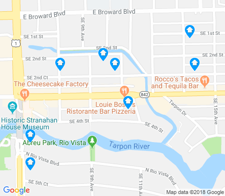map of Colee Hammock apartments for rent