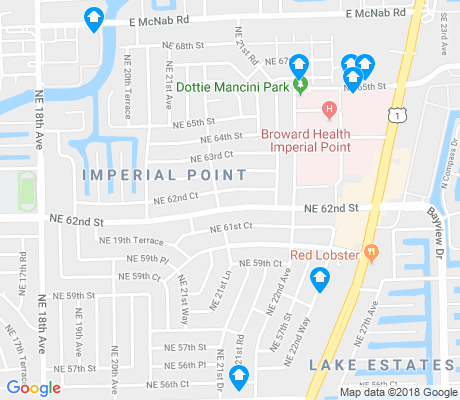 map of Imperial Point apartments for rent