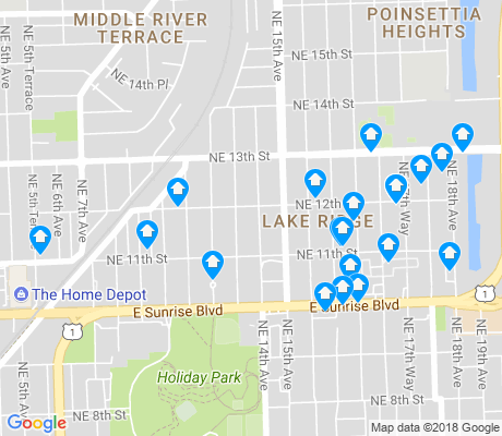 map of Lake Ridge apartments for rent