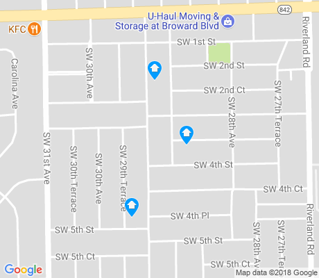 map of Melrose Manors apartments for rent