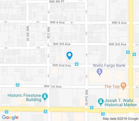map of Pleasant Street apartments for rent