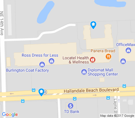 map of Gateway East apartments for rent