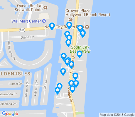 map of Oceanside apartments for rent