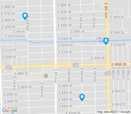 map of 33013 apartments for rent