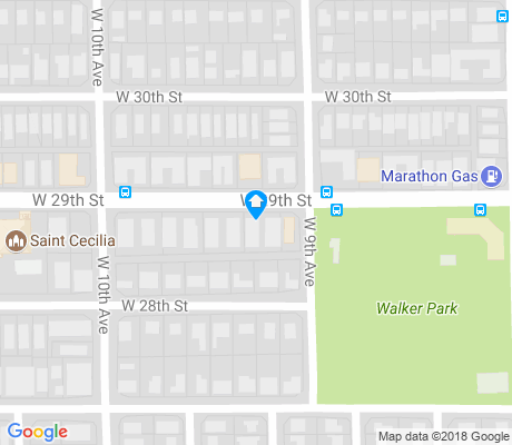 map of Trojan Park apartments for rent